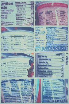 This is what happened when I read the food label